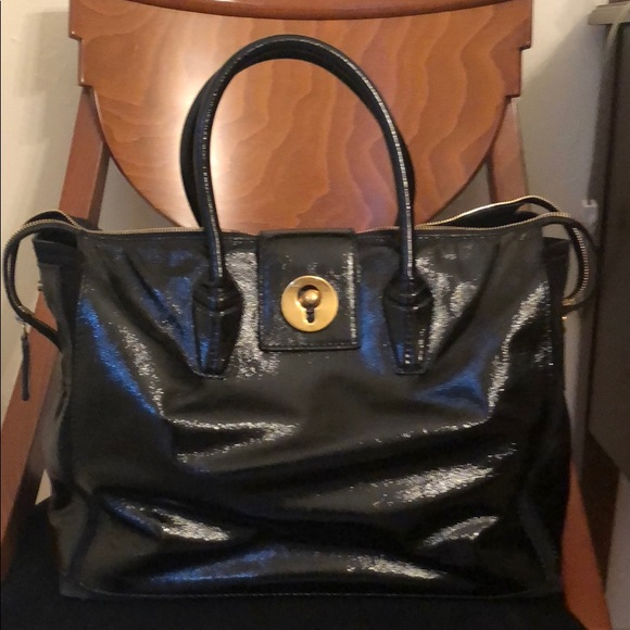 Yves Saint Laurent Handbags - YSL Patent Satchel